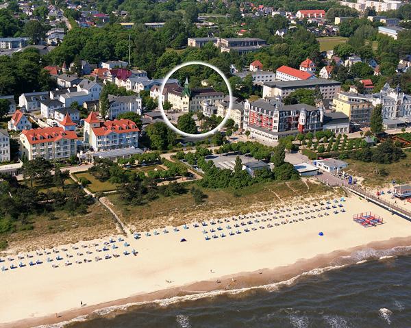 Pensionen und hotels im ostseebad zinnowitz for Designhotel usedom