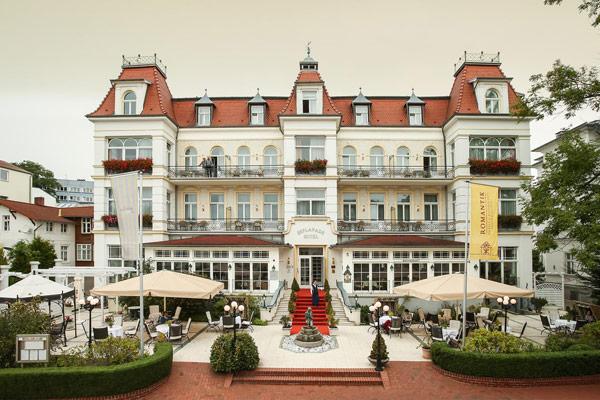 Heringsdorf Hotel Pension Zum Strand