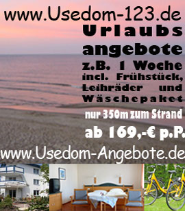 Angebote Pension Usedom